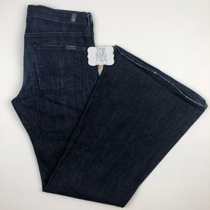 7 For All Mankind Super Flare Stretch Jeans